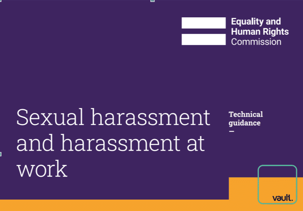 EHRC Guidance on sexual harassment
