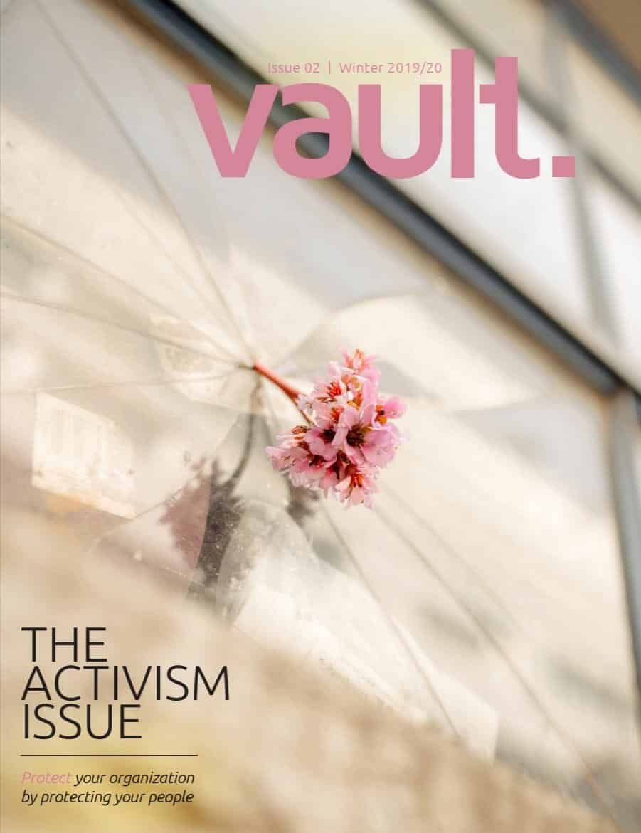 Vault Magazine: The Activism Issue