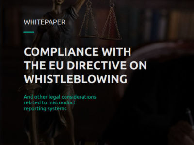 Become compliant with the EU Whistleblower Directive in 5 minutes